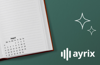 Ayrix Monthly Review August 2021